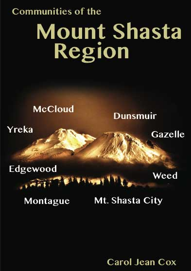 Mount Shasta book cover, front side